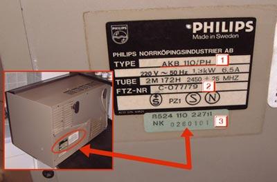 esempio etichetta microonde